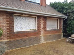 Builder for a garage conversion in Horsham