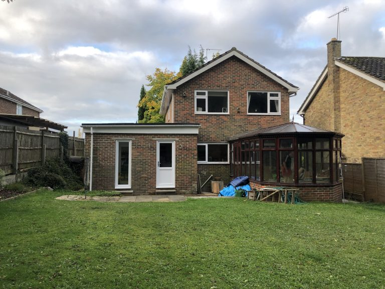 Builder for an extension in Ascot
