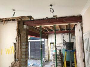 Steel Beam and RSJ FOR LOAD BEARING WALL REMOVAL